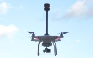 Drone With Wind Sensor